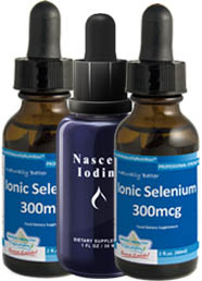 Ionic Selenium and Nascent Iodine Offer